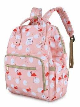 Рюкзаки - Рюкзак водонепроницаемый розовый Himawari., 0