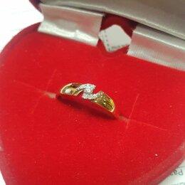 Кольца и перстни - Золотое кольцо 585 с бриллиантами 17 , 0