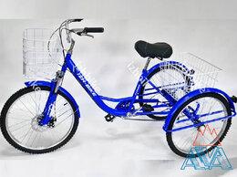 Велосипеды - Велосипед трехколесный взрослый Farmer I-3W 24'', 0