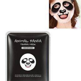 Маски - Омолаживыающая эластичная тканевая маска для лица с изображением панды Bioaqua, 0