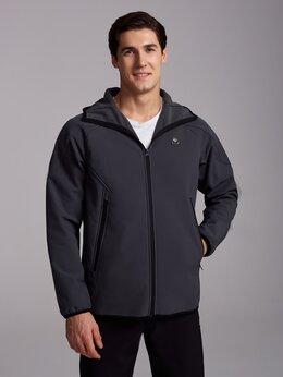 Спортивные костюмы - Мужские теплые спортивные костюмы серые (46-58), 0