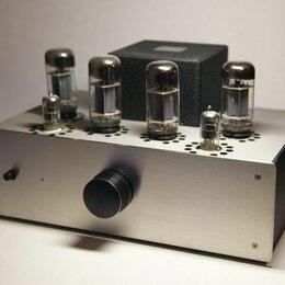 Усилители и ресиверы - Ламповый усилитель на 6П3С, 0