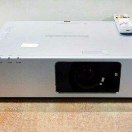 Проекторы - Проектор мультимедийный Panasonic PT-FW100NT (ресу, 0