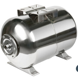Баки - Гидроаккумулятор UNIPUMP 80 л (нерж.) горизонтальный, 0