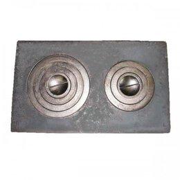 Печи для казанов - 6373 Плита под казан двукомфорная П2-5 (760х455мм), 0