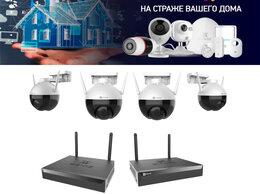 Готовые комплекты - Видеонаблюдение Wi-Fi на 4камеры EZVIZ C8C+X5S., 0