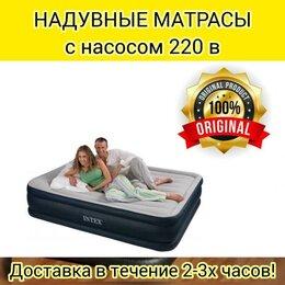 Кровати - Надувной матрас Intex Кровать двуспальная новая…, 0
