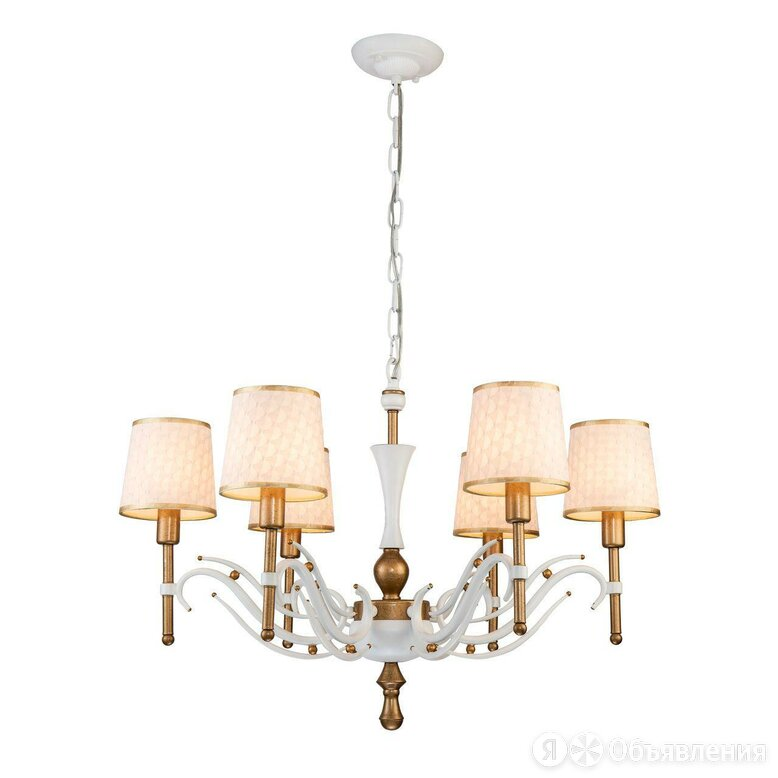 Подвесная люстра Favourite Milena 2527-6P по цене 17913₽ - Люстры и потолочные светильники, фото 0