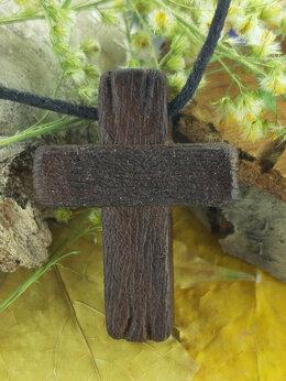 Кулоны и подвески - Крест нательный резной., 0