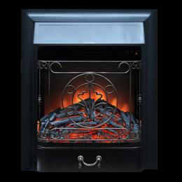 Камины и печи - Электрический очаг Royal Flame Majestic FX Brass/Black, 0