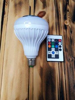 Портативная акустика - Новые блютуз-колонки лампочки, 0