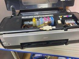 Принтеры и МФУ - цветной принтер а3  epson 1410, 0