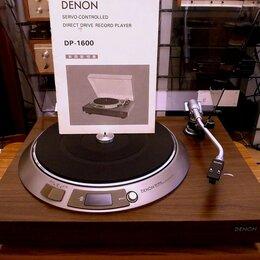 Проигрыватели виниловых дисков - Проигрыватель винила DENON DP-1600, 0