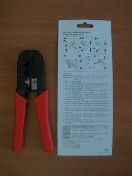 Инструменты - Инструмент обжимной НТ-568  RJ45 RG11/12, 0