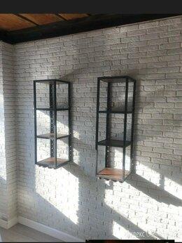 Стеллажи и этажерки - Полка стеллаж мебель лофт, 0