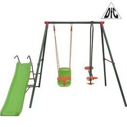 Игровые и спортивные комплексы и горки - Детский уличный комплекс с горкой DFC GBN-02, 0