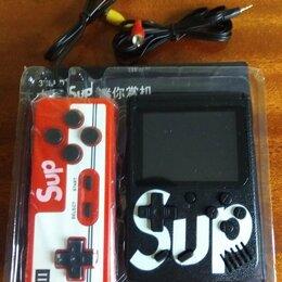 Игровые приставки - Игровая приставка Sup 2в1 с джойстиком новая, 0