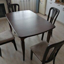 Столы и столики - Стол из массива размер и цвет по вашему предпочтение. , 0