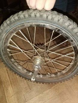 Обода и велосипедные колёса в сборе - колесо для велосипеда 16 д задние, 0