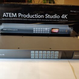 Усилители и ресиверы - Видеомикшер blackmagic atem Production Studio 4K, 0