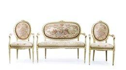 Диваны и кушетки - Набор мебели для гостиной с пасторальными…, 0