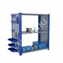 Стеллажи и этажерки - Металлический полочный стеллаж KronVuz CT H3…, 0