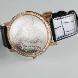 Наручные часы - Часы с драконом, 0