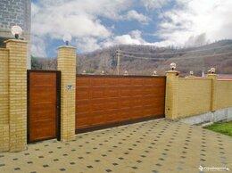 Заборы и ворота - Откатные (сдвижные) уличные ворота, 0