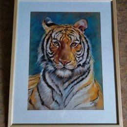 Картины, постеры, гобелены, панно - Картина с тигром, 0