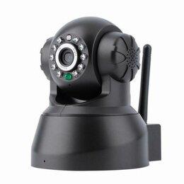 Видеокамеры - Новая Моторизованная IP WiFi LAN камера, 0