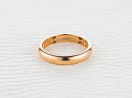 Кольца и перстни - Обручальное кольцо из красного золота, 0