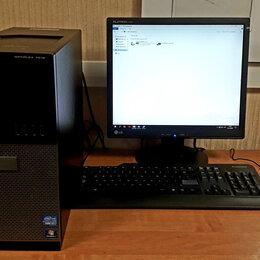 Настольные компьютеры - Системный блок i7 ddr3 8Gb ssd, 0