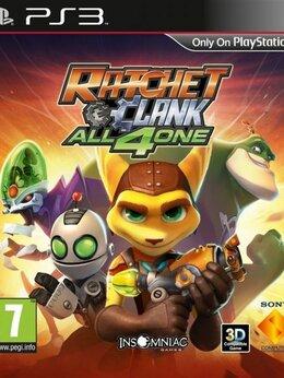 Игры для приставок и ПК - Видеоигра Ratchet and Clank: All 4 One Русская…, 0