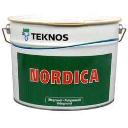 Пропитки - Teknos Нордика Эко Nordica Pohjamaali Грунт 9л.…, 0