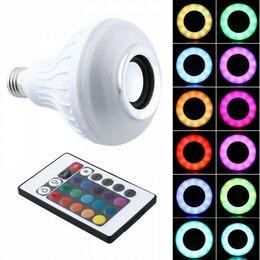 Ночники и декоративные светильники - Led лампа-колонка bluetooth, 0