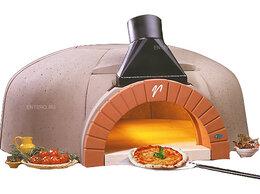 Жарочные и пекарские шкафы - Печь для пиццы дровяная Valoriani Vesuvio…, 0