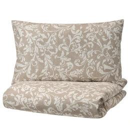 Постельное белье - ИКЕА VARBRACKA Комплект постельного белья, 150x200/50x70cm  1299р, 0