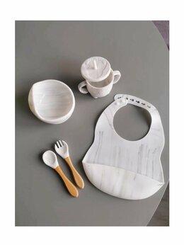 Посуда - Новый набор посуды из силикона, 5шт. (белый…, 0