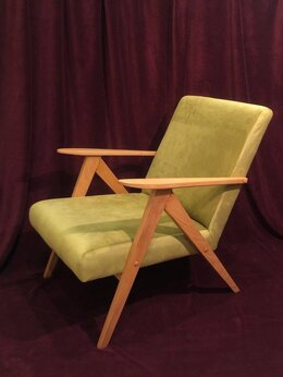 Кресла - Винтажное кресло Model B-310 VAR A.Dutka, 0