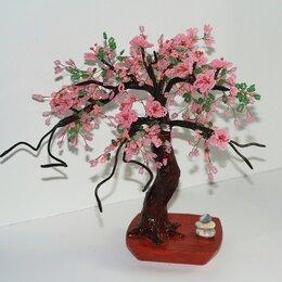 Статуэтки и фигурки - Дерево из бисера. Сакура из бисера «Японская вишня», 0