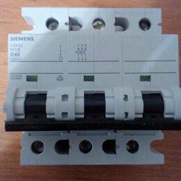 Электрические щиты и комплектующие - Автоматический выключатель 3P 63A хар-ка D Siemens, 0
