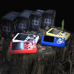 Игровые приставки - Карманная денди SUP game BOX игры 90-х, 0