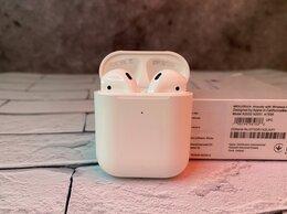 Наушники и Bluetooth-гарнитуры - AirPods 2 Full lux, 0