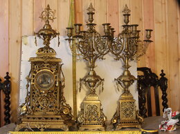 Часы настольные и каминные - часы каминные, 0