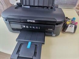 Принтеры и МФУ - Принтер epson wf2010 с СНПЧ и чернилами, 0