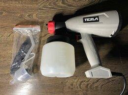 Аэрографы, краскопульты, текстурные пистолеты - Краскопульт tesla TSG550, 0