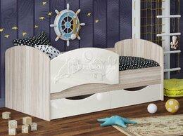 Кроватки - Кровать Дельфин-3 белый, 0