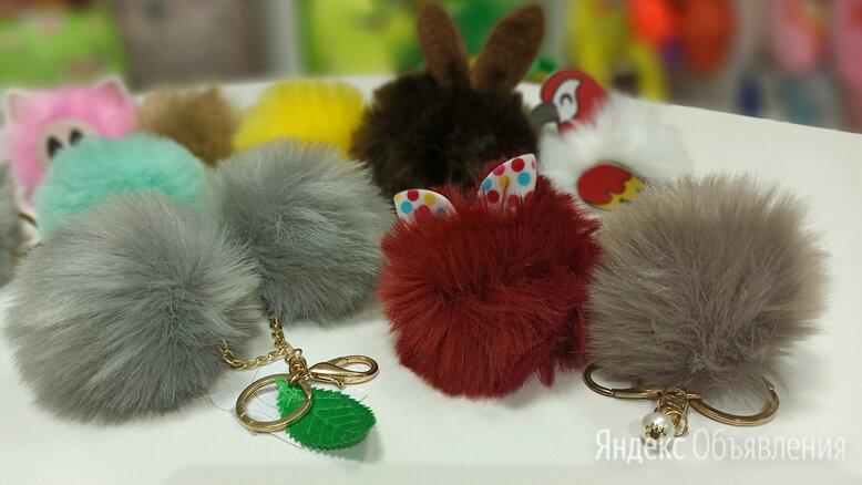 меховые брелочки по цене 100₽ - Брелоки и ключницы, фото 0