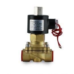 """Электромагнитные клапаны - Клапан магнитный Sanlixin 1"""" 220 В, 0"""