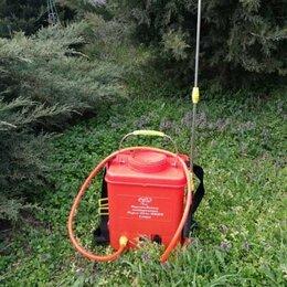 Электрические и бензиновые опрыскиватели - Опрыскиватель растений садовый Умница ОЭ 8 литров Мини аккумуляторный, 0